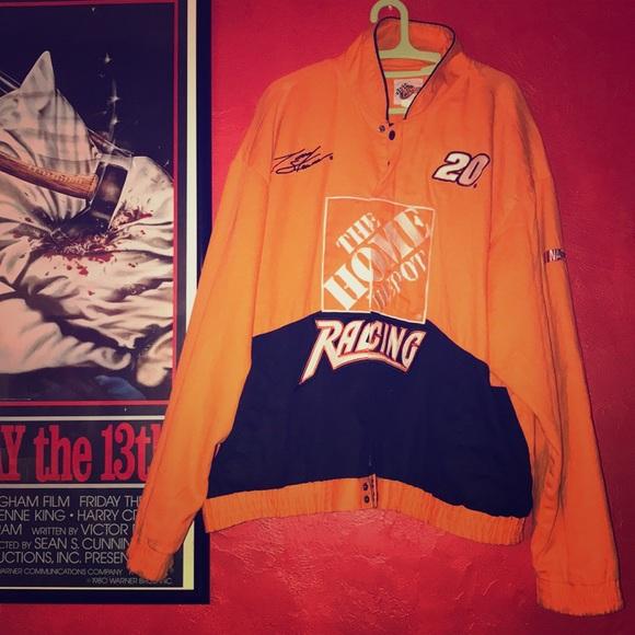 5f51a8278 Jackets & Coats   Vintage Tony Stewart Home Depot Nascar Jacket ...